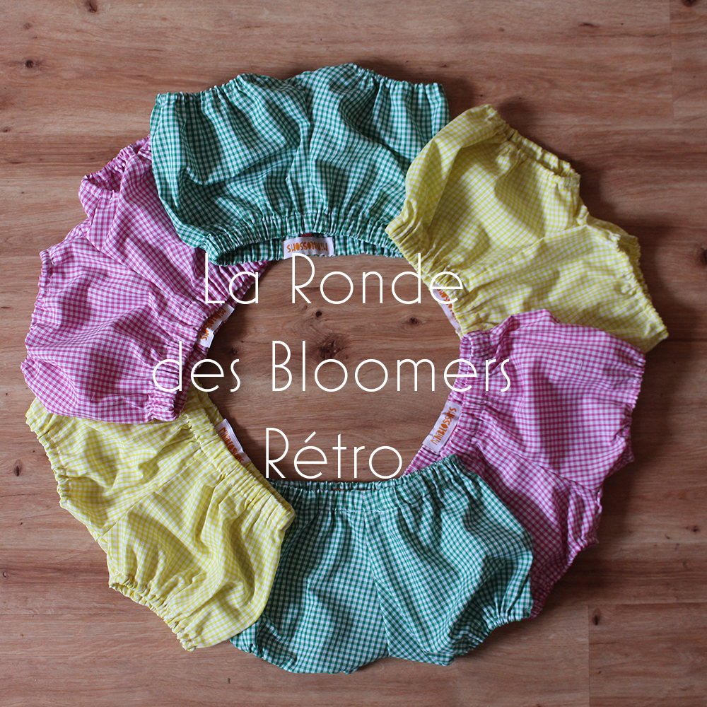 Ronde des Bloomers Vichy texte